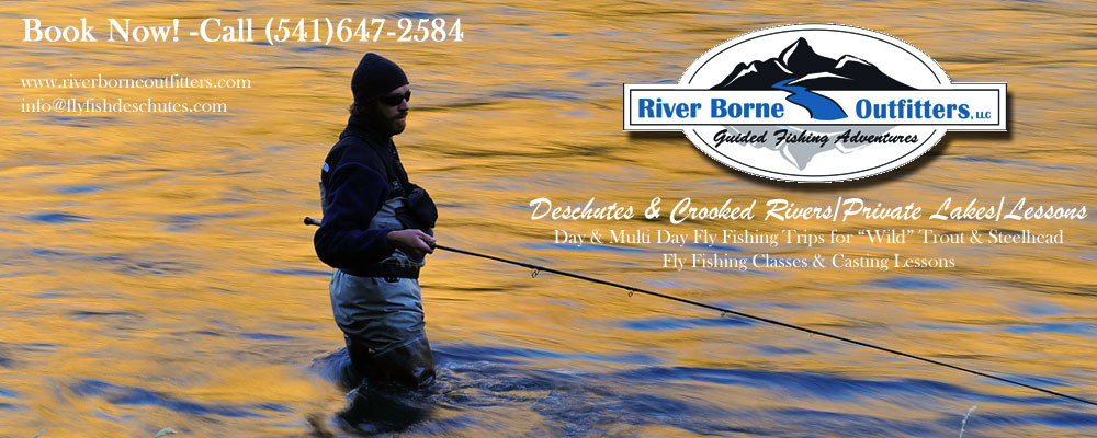 Guided Fly Fishing Trips | River Borne Outfitters
