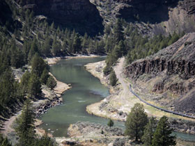 Crooked River, Oregon